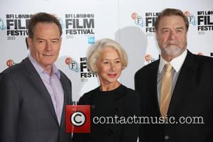 Bryan Cranston, Helen Mirren , Adewale Akinnuoye-Agbaje - BFI London Film Festival - 'Trumbo' - Photocall - London, United Kingdom...
