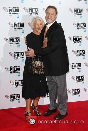 Helen Mirren , John Goodman - BFI London Film Festival - 'Trumbo' - Photocall - London, United Kingdom - Thursday...