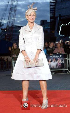 Helen Mirren - BFI London Film Festival - 'Trumbo' - Premiere - London, United Kingdom - Thursday 8th October 2015