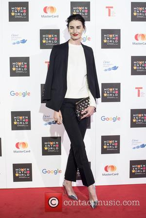 Erin O'Connor - Women in the World Summit held at Cadogan Hall - Arrivals. - London, United Kingdom - Thursday...