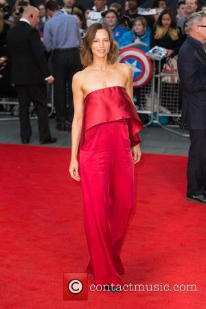 Sienna Guillory - The BFI London Film Festival, Festival Gala of 'High-Rise' held at the Odeon Leicester Square - Arrivals...