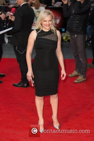 Elisabeth Moss - The BFI London Film Festival, Festival Gala of 'High-Rise' held at the Odeon Leicester Square - Arrivals...