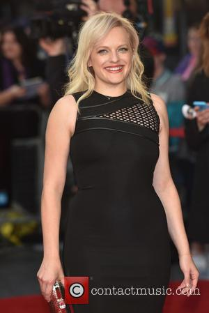 Elisabeth Moss - BFI LFF: High Rise festival Gala held at the Odeon Leicester Square - Arrivals. at Odeon Leicester...