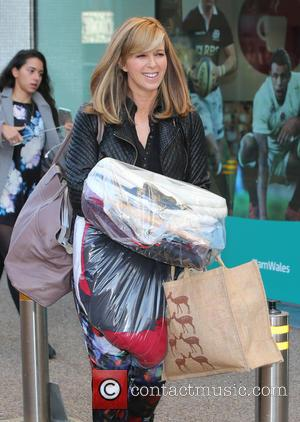 Kate Garraway - Kate Garraway outside ITV Studios - London, United Kingdom - Friday 9th October 2015