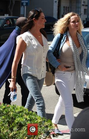 Lauren Silverman - Simon Cowell's girlfriend Lauren Silverman goes out for lunch with a friend in Beverly Hills - Los...