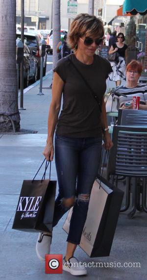 Lisa Rinna - Lisa Rinna shopping for blouses in Beverly Hills at beverly hills - Los Angeles, California, United States...