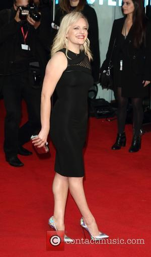Elisabeth Moss - BFI London Film Festival - High Rise - Festival Gala and Premiere at the Odeon Leicester Square,...