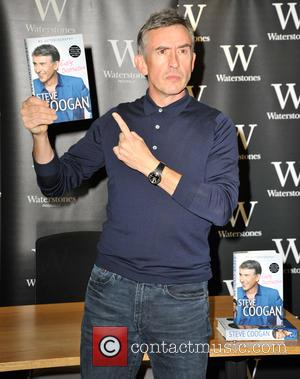Steve Coogan - Steve Coogan signs copies of his new autobiography 'Easily Distracted' at Waterstones in Piccadilly, central London at...