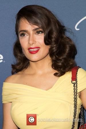 Salma Hayek Pinault - Celebrities attend Variety's Power of Women Luncheon at Beverly Wilshire Four Seasons Hotel. at Beverly Wilshire...