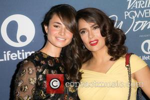 Mía Maestro , Salma Hayek Pinault - Celebrities attend Variety's Power of Women Luncheon at Beverly Wilshire Four Seasons Hotel....