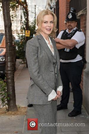 Nicole Kidman - Women in the World Summit held at Cadogan Hall - Arrivals. - London, United Kingdom - Friday...