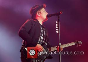 Patrick Stump , Fall Out Boy - Fall Out Boy Performing at Manchester Arena at Manchester Arena - Manchester, United...