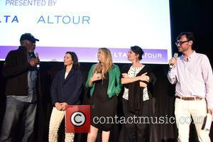 Morgan Freeman, Pascaline Servan-Schreiber, Lori McCreary, Meghan O'Hara , David Nugent - Hamptons International Film Festival - 'The C Word'...
