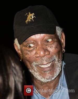 Morgan Freeman - Hamptons International Film Festival - 'The C Word' - Screening at United Artists East Hampton Cinema 6...