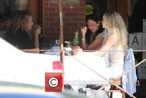 Lauren Silverman - Lauren Silverman having lunch with friends at La Scala in Beverly Hills at beverly hills - Beverly...