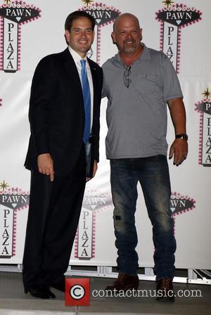 Marco Rubio and Rick Harrison