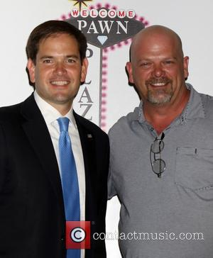 Marco Rubio , Rick Harrison - Official Grand Opening of 'Pawn Plaza' in Las Vegas - Las Vegas, Nevada, United...