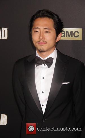 Steven Yeun - 'The Walking Dead' Season Six Premiere and Ultimate Fan Event at Madison Square Garden - Arrivals at...