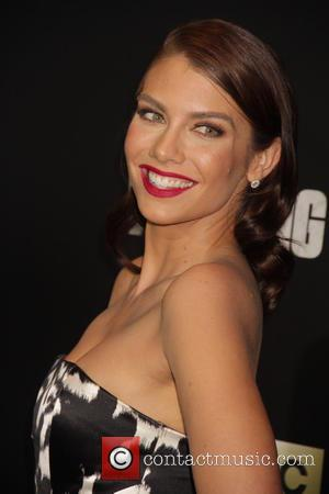 Lauren Cohan - 'The Walking Dead' Season Six Premiere and Ultimate Fan Event at Madison Square Garden - Arrivals at...