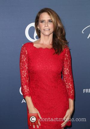 Amy Landecker - Variety's Power Of Women Luncheon at the Beverly Wilshire Four Seasons Hotel - Arrivals at Beverly Wilshire...