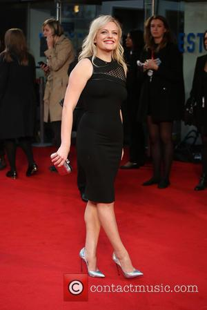 Elisabeth Moss - BFI London Film Festival - High Rise - Festival Gala and Premiere - London, United Kingdom -...