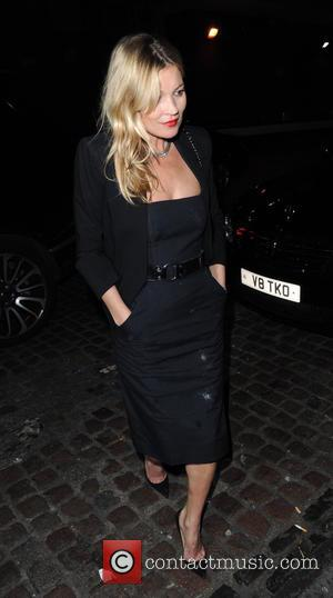 Kate Moss - Celebrities at Chiltern Firehouse at Marylebone - London, United Kingdom - Friday 9th October 2015