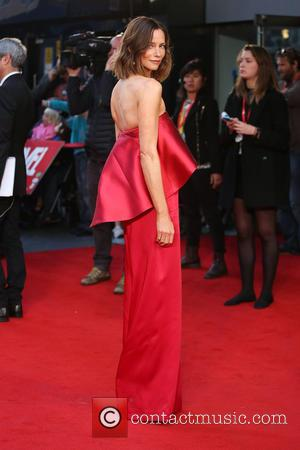Sienna Guillory - BFI London Film Festival - High Rise Premiere - Arrivals - London, United Kingdom - Friday 9th...