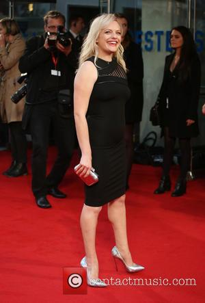 Elisabeth Moss - BFI London Film Festival - High Rise Premiere - Arrivals - London, United Kingdom - Friday 9th...