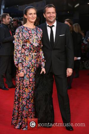 James Purefoy , Jessica Adams - BFI London Film Festival - High Rise Premiere - Arrivals - London, United Kingdom...