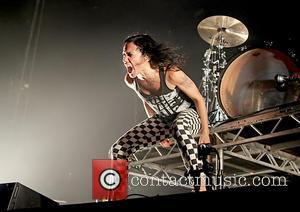 Matt, Kim , Kim Schifino - Matt and Kim performing at Manchester Arena at Manchester Arena - Manchester, United Kingdom...
