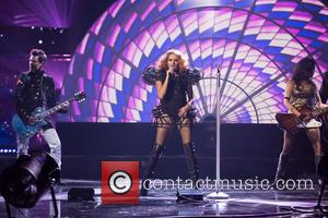 Paulina Rubio at Dolby Theatre and American Music Awards