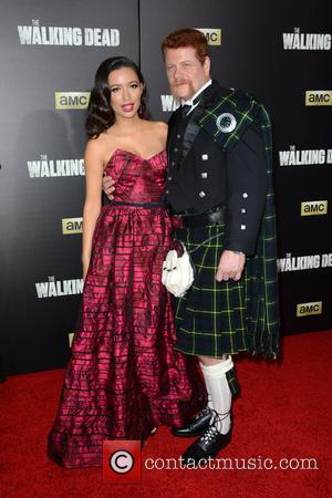 Christian Serratos and Michael Cudlitz