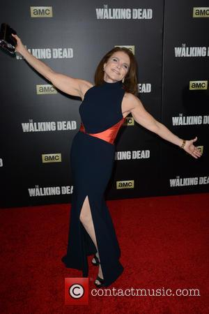 Tovah Feldshuh - 'The Walking Dead' Season Six Premiere and Ultimate Fan Event at Madison Square Garden - Arrivals at...