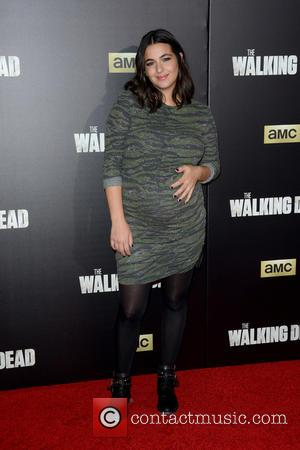 Alanna Masterson - 'The Walking Dead' Season Six Premiere and Ultimate Fan Event at Madison Square Garden - Arrivals at...