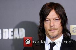 Norman Reedus - 'The Walking Dead' Season Six Premiere and Ultimate Fan Event at Madison Square Garden - Arrivals at...