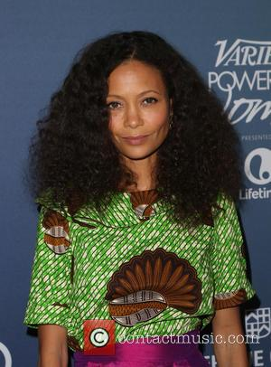 Thandie Newton - Celebrities arrive at Variety's Power Of Women luncheon at Beverly Wilshire Four Seasons Hotel - Beverly Hills,...
