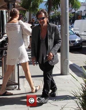 Al Pacino - Al Pacino walks passed fans in Beverly Hills at beverly hills - Los Angeles, California, United States...