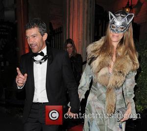 Antonio Banderas , Nicole Kimpel - Antonio Banderas and Nicole Kimpel attend Roberto Cavalli's wife Eva Cavalli - VIP birthday...