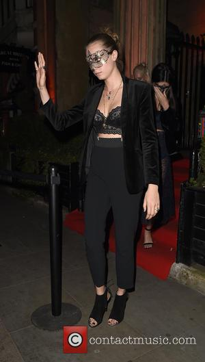 Cara Delevingne , Kendall Jenner - Celebrities attend Roberto Cavalli's wife Eva Cavalli - VIP birthday party at One Mayfair....