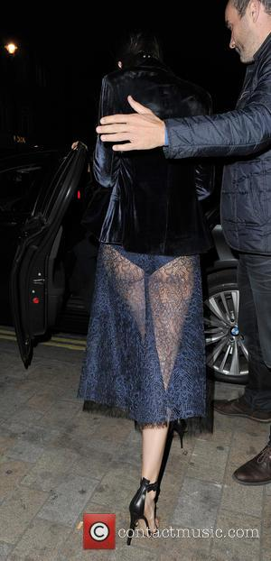 Kendall jenner - Celebrities attend Roberto Cavalli's wife Eva Cavalli - VIP birthday party at One Mayfair. London. UK -...
