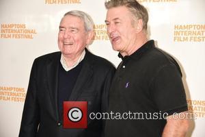 Dan Rather and Alec Baldwin
