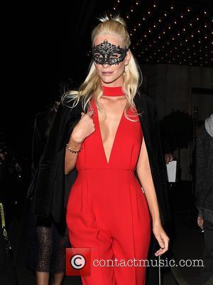 Poppy Delevingne, Kendall Jenner , Cara Delevingne - Celebrities leaving Edition Hotel heading to Eva Cavalli - VIP birthday party...