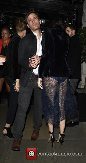 Kendall Jenner , Cara Delevingne - Celebrities leaving Edition Hotel heading to Eva Cavalli - VIP birthday party at One...