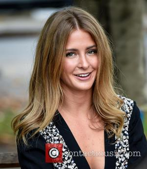Millie Mackintosh - Millie Mackintosh at Cheltenham Literature Festival dressed in her own collection ahead of speaking on stage at...