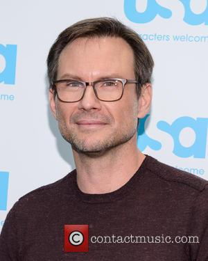 Christian Slater - Mr Robot and The Colony round table at New York Comic Con at Comic Con - New...