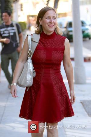 Susan Wojcicki - Susan Wojcicki seen leaving the Power of Women lunch at the Beverly Wilshire hotel at Beverly Hills...