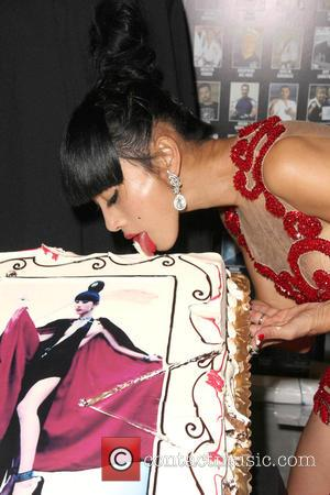 Bai Ling - Bai Ling is surprised with a birthday party during a meet and greet with the cast of...