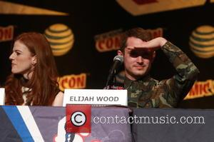 Rose Leslie and Elijah Wood