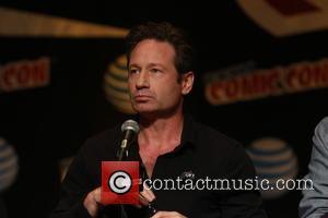 David Duchovny - New York Comic Con - Day 3 - 'X-Files' - Press Conference at Javitis Center, Comic Con...