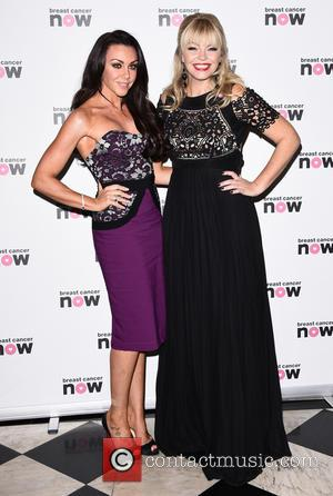 Michelle Heaton , Kate Thornton - Breast Cancer Now's Annual Pink Ribbon Ball at Grand Connaught Rooms at Grand Connaught...